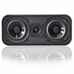 BIC America DV32CLR Venturi 3.5 inch woofer Centre Channel Speakers