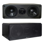 "BIC Venturi DV62CLR – 175W 2-Way, 3-Driver 6 1/2″ Center Channel Speaker with ½"" Poly Soft Dome Tweeter"