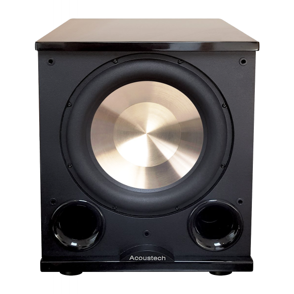 BIC America PL200II version-2 Front Firing Powered 12 inch 1000-Watt Subwoofer