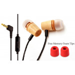 Signature Acoustics Elements C12 Version 2.0 In-Ear Wooden IEMs with Mic