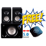 Swans M10 Black Combo offer with Signature Acoustics Sparrow  - Now Make your Speaker Bluetooth Enabled