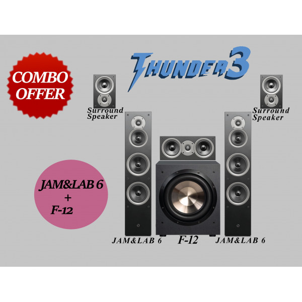 JAM&LAB 6+ F-12 COMBO