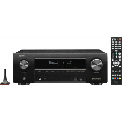 Denon AVR-X1600H 7.2ch 4K Ultra HD AV Receiver with 3D Audio and HEOS Built-in®