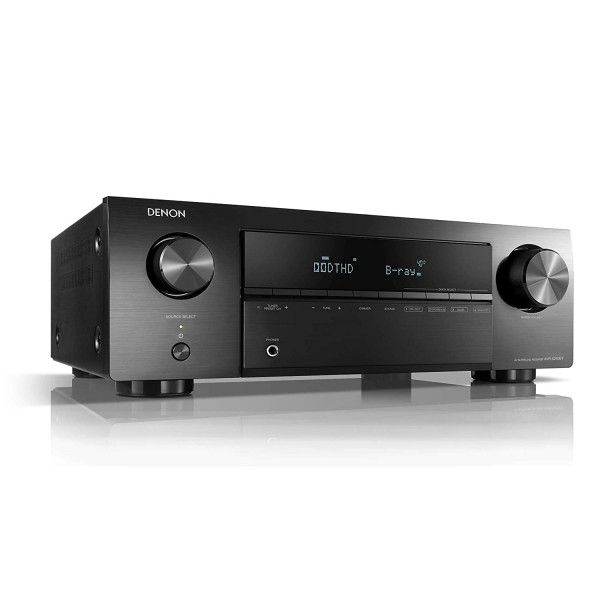 Denon AVR-X250BT 5.1 Ch. 4K Ultra HD AV Receiver with Bluetooth (Black)