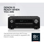 Denon AVR-X3700H 8K Ultra HD 9.2 Channel (105 Watt X 9) AV Receiver 2020 Model - 3D Audio & Video with IMAX Enhanced