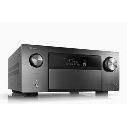 Denon AVRA110GS Limited Series 110-Year Anniversary Edition 13.2Ch 8K AV Receiver w/ 3D Audio, HEOS Built-in and Voice Control (Silver Graphite)