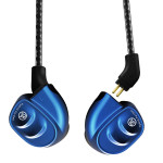 Signature Acoustics OCEAN Triple-Driver Hybrid Modular Hi-Fi Audiophile Earphone 2 coaxial Dynamic Drivers + 1 Balanced Armature (Convertible to BT5.0)