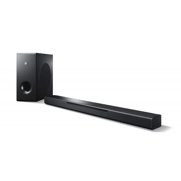 YAMAHA YAS-408 Black (DTS Virtual:X™ Surround Sound, Wireless subwoofer, & Music Streaming Services.)