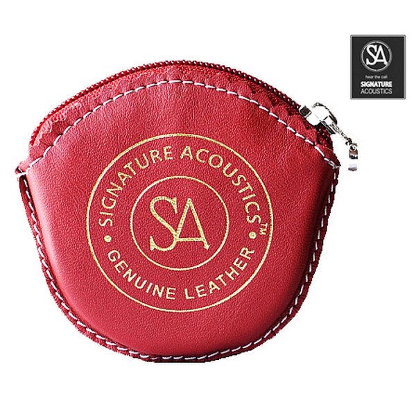 Signature Acoustics Leather Case (Red)