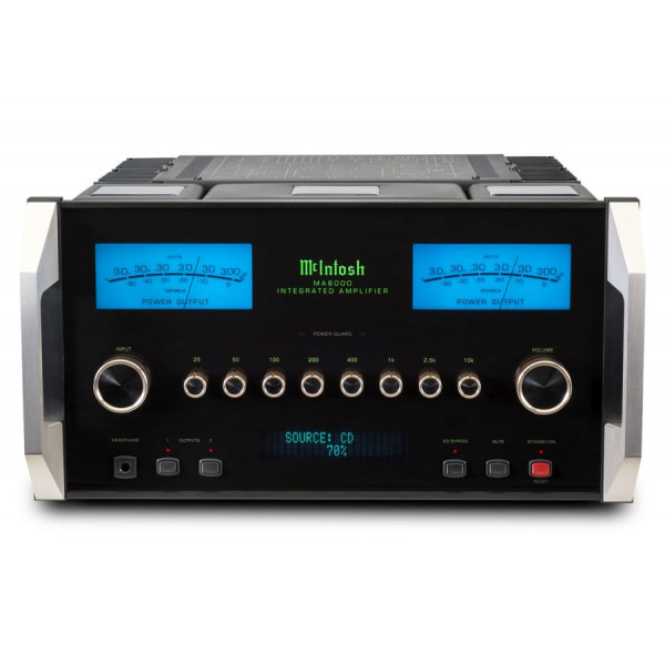 Mcintosh MA8000 2-CHANNEL INTEGRATED AMPLIFIER