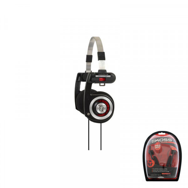 Koss Porta Pro Limited Edition On-Ear Stereo Headphones- Red