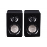 Swans M10 Powered 2.1 Computer multimedia Surround Sound Near-Field Speakers System (Black)