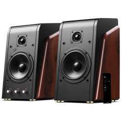 Swans M200MKII+ Powered Wi-Fi Bookshelf 2.0 Hi-end digital Multimedia Speakers System
