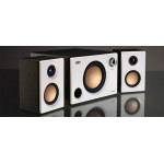 Swans M10 Powered 2.1 Computer multimedia Surround Sound Near-Field Speakers System (White)