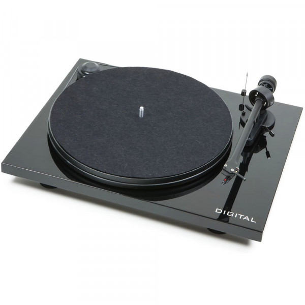 Pro-Ject Essential II Digital Turntable with OM5E Cartridge (black)