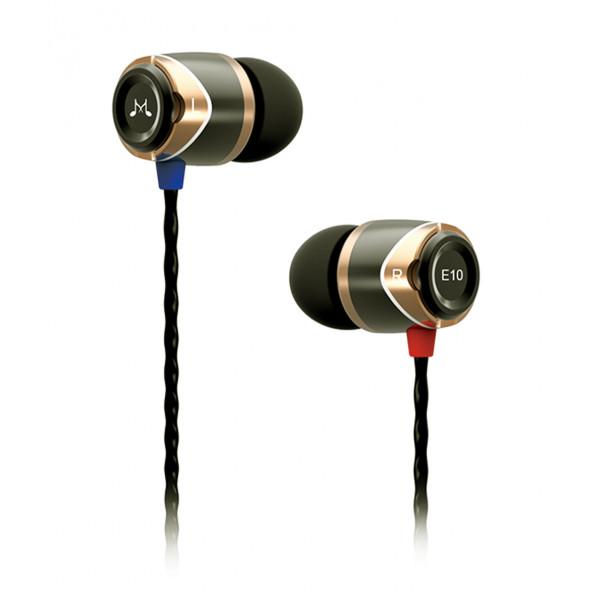 SoundMagic E10 In Ear Isolating Earphones Gold-Black