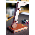 Signature Acoustics Wooden Headphone Stand