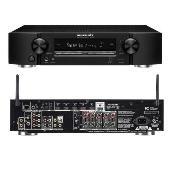 MARANTZ  NR1506 5.2 Channel Full 4K Ultra HD A/V  Network A/V Receiver with Wi-Fi and Bluetooth