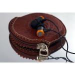 Signature Acoustics O16 - Live Metallic Earphone - with Leathe Case
