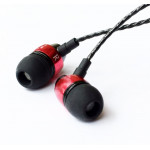 Signature Acoustics Elements Be-09 iPhone Type In-Ear Headphone with Microphone