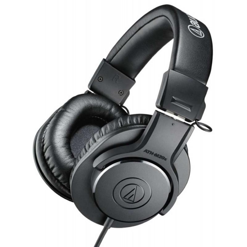 buy ath m20x by audio technica over ear professional studio monitor headphones proaudiohome. Black Bedroom Furniture Sets. Home Design Ideas