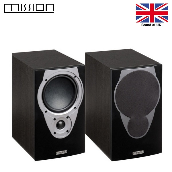 MISSION MX-2 BOOK SHELF / STAND MOUNT SPEAKERS