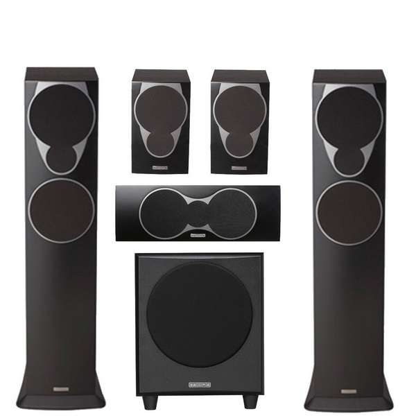 MISSION MX3 5.1 HOME THEATRE SET