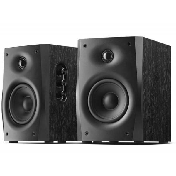 Swans D1010-IV Powered 2.0 Bookshelf Speakers