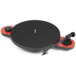 Pro-Ject Elemental - 2 speed Turntable with Ortofon OM 5E Cartridge