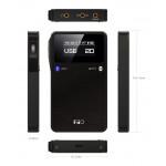 FiiO E17K Portable Headphone Amplifier and USB DAC (Alpen 2) - Black