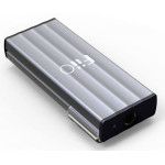 FiiO K1 Portable Headphone Amplifier and USB DAC (Silver)
